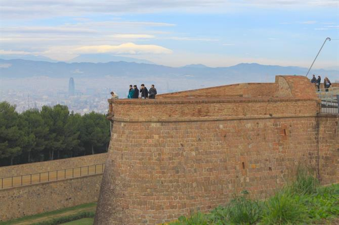 Montjuic Castle, The Barcelona Castle on hill