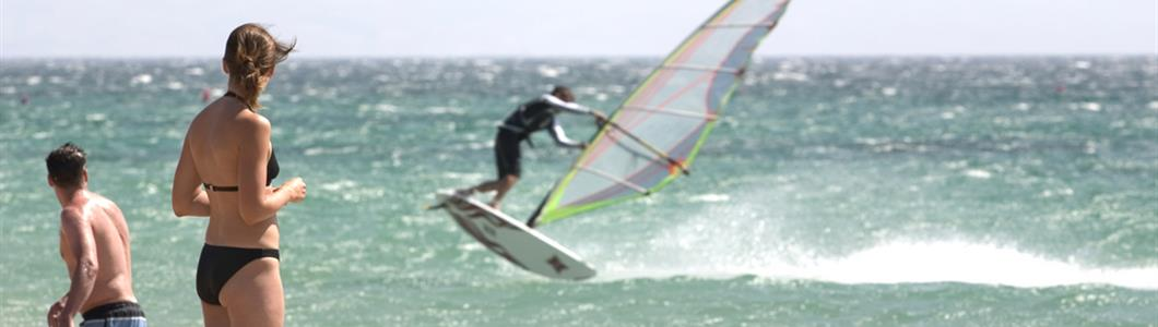 Windsurf e kite a Tarifa
