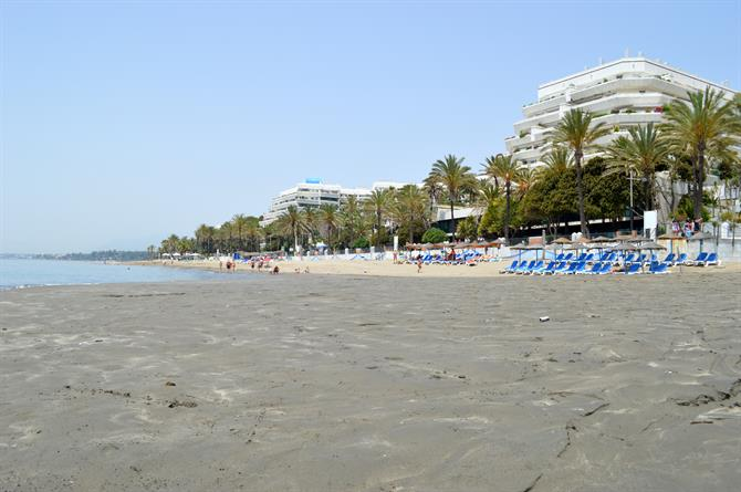 Playa la Fontanilla Marbella