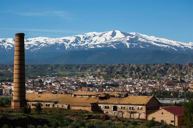 Sierra Nevada view from Guadix